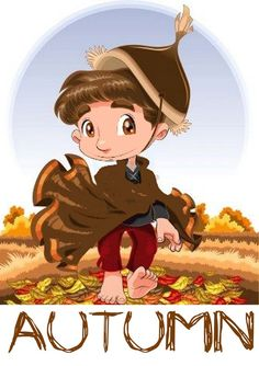 Funny cartoon and vector character Created: GraphicsFilesIncluded: VectorEPS Layered: Yes MinimumAdobeCSVersion: CS Tags: adorable Urdu Stories For Kids, Moral Stories For Kids, Weather For Kids, Time And Weather, Autumn Illustration, Funny Illustration, English Activities, Fairy Princesses, Seasons Of The Year