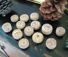 champagne cork magnets