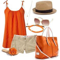 So fröhlich in Orange!