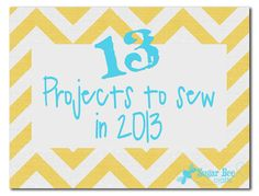 Sugar Bee Crafts: sewing, recipes, crafts, photo tips, and more!: Projects to Sew