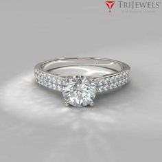 Decisions, decisions...we have the style just for you. #Diamond   #Double   #engagementring   #weddingband   #love   #trijewels