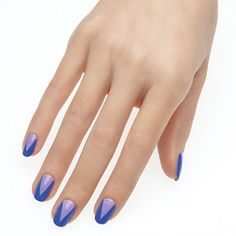 gossip+talk+by+essie - sexy+triangle+tips+take+on+bold+new+edge.+this+look+is+sure+to+have+people+talking.