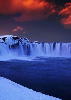 Godafoss Waterfall, Iceland | Brandon Ku on 500px