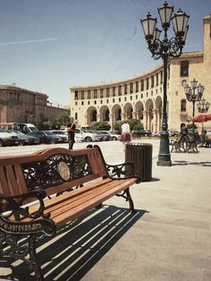 Yerevan, Armenia. I'm sure we'll never go there but I would love to go to Armenia some day
