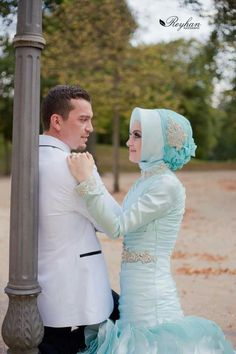 Bride Groom, Wedding Bride, Islam Marriage, Muslim Wedding Dresses, Princess Bridal, Turkish Fashion, Groom Outfit, Muslim Couples