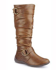 Legroom Boots EEE Fit Super Curvy Calf