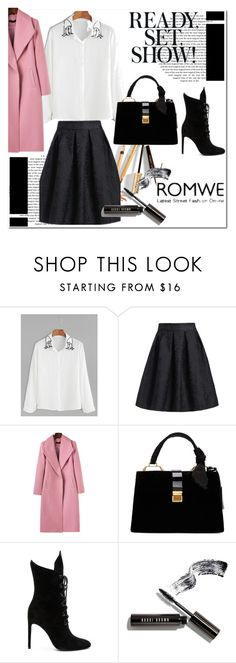 """Romwe #1/4"" by s-o-polyvore ❤ liked on Polyvore featuring Miu Miu, Kendall + Kylie, Dolce&Gabbana and Bobbi Brown Cosmetics"