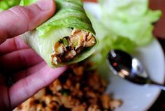 Winnir, winner... PF Changs chicken lettuce wraps for dinner. Made these tonight and they were amazing, easy and relatively quick! MG