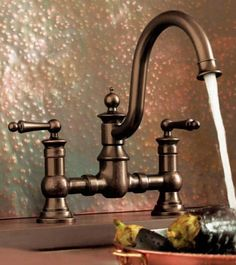 Moen Kitchen Faucets Bronze moen muirfield mediterranean bronze 1-handle high-arc kitchen