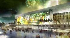 Arena da Baixada - Curitiba -  Desde que foi reinaugurado em junho de 1999, o tradicional Estádio Joaquim Américo, conhecido como Arena da Baixada, tem a reputação de ser um dos mais modernos e bem estruturados do Brasil.22/04/2014.