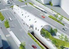 JR・アストラムライン 2つの新白島駅が、2015年3月14日に開業決定