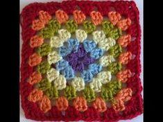 Transcendent Crochet a Solid Granny Square Ideas. Inconceivable Crochet a Solid Granny Square Ideas. Crochet Kids Scarf, Baby Boy Crochet Blanket, Crochet Pillow, Crochet Baby Booties, Crochet Poncho, Granny Square Häkelanleitung, Granny Square Crochet Pattern, Crochet Stitches Patterns, Crochet Granny