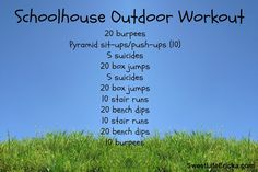 Schoolhouse Outdoor Workout Boot Camp Workout, Workout Gear, Gym Workouts, Summer Workouts, Outdoor Gym, Outdoor Workouts, Crossfit Inspiration, Fitness Inspiration, Workout Inspiration