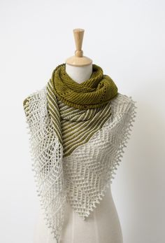 Ravelry: Spotlight shawl in Madelinetosh Tosh Sock - knitting pattern by Janina Kallio.
