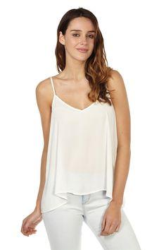 janet v-neck strappy cami | Cotton On