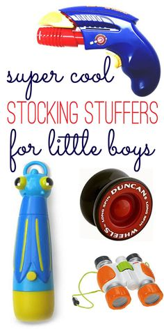 super cool stocking stuffers for little boys