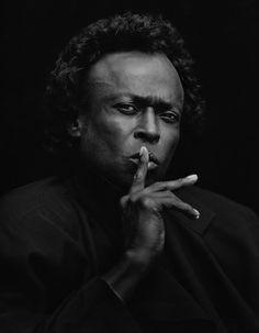 Miles Davis by Jeff Sedlik