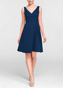 Classic elegance meets modern sophistication, in this gorgeous cottonsateen sleeveless dress!  Sleeveless V neck cotton sateen dress is stunning and perfect for any bridesmaid.  Pleating at bodice and waist help to create a flattering silhouette while the full cotton sateen skirt adds movement.  Select colors are on sale. Please click color and size to view pricing  Fully lined. Back zip. Imported. Dry clean.