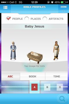 The Superbook Bible App has everything you need to teach your kids about the Word, from Bible character profiles, to Scripture games, and Q & A.