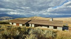 Historic homestead informs McLean Quinlan's stone house in Wyoming