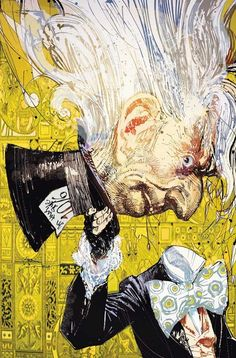 MAD HATTER BY BILL SIENKIEWICZ
