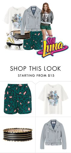 """Jim_Soy Luna"" by ekaterina33-01 ❤ liked on Polyvore featuring Libertine-Libertine, Uniqlo, Balmain and Acne Studios"