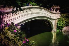 Central Park's Bow Bridge