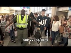 Exo band Fans go Crazy when they meet them at LAX *I really like the comments on this. International fans seem to have more sense of personal space and stuff, though it's still kind of awkward (even though it's a nice show of support for idols).