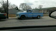 Old Chevy trucks !
