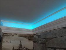 Uplighter Coving Cornice Polystyrene Super Quality 20cm SAMPLE for LED lighting