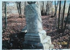 Willliam Cochran Tombstone in Stout graveyard in Guernsey County.