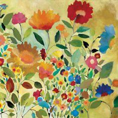 Kim Parker....love her flower paintings, rugs and tableware. <3