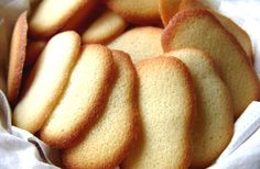 How to make Cats' tongues cookies  - Learn to make Cat's Tongues Biscuits Recipe