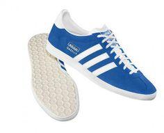 sale retailer c9008 4930a baskets adidas Homme Gazelle OG bleues