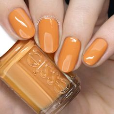 Essie Fall 2018 Collection >> Nail Polish Society Making fat claws at home is very Fall Nail Polish, Essie Nail Polish, Nail Polish Colors, Manicure And Pedicure, Diy Nails, Cute Nails, Pretty Nails, Fall Nail Colors, Nagel Gel