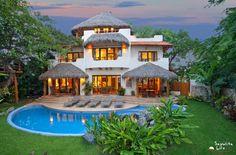 Casa Sonadora vacation rental in Sayulita Mexico is a truly exceptional 4 bedroom 4 bath vacation rental home in Sayulita's best location.