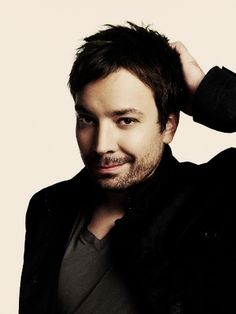 Jimmy Fallon with a beard.