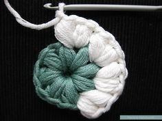 """Triple Puff"" Crochet Granny Square - Free Pattern & Tutorial - Pasta & Patchwork"
