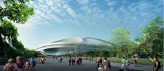 """Arata Isozaki is the latest Japanese architect to hit out at Zaha Hadid's design for the Tokyo 2020 Olympic stadium, branding it """"a monumental mistake"""" 2020 Olympics, Tokyo Olympics, Futuristic Architecture, Architecture Design, Organic Architecture, Amazing Architecture, Arata Isozaki, Zaha Hadid Design, National Stadium"""