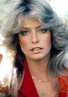 Farrah Fawcett Feather Hair.  Every girl of the 70's wanted that hair style.