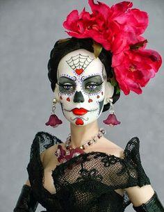 Goth Shopaholic: Day of the Dead Goth Dolls