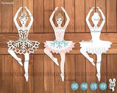 Ballerina svg, png Clipart, Papercut Templates detailed and layered Ballerina Silhouette, Ballerina Art, Clipart, Ballet Girls, Ballet Dancers, Silhouette Designer Edition, Cricut, Paper Cutting, Stencil Material