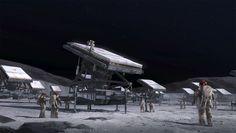 concept spaceship crash - Google Search
