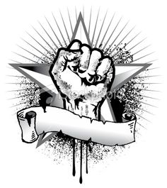 stock-illustration-8545604-revolution-fist-and-star-symbol-with-banner.jpg (338×380)