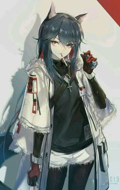 Texas, Yuxiang Chen – About Anime Anime Girl Neko, Art Anime Fille, Anime Wolf Girl, Cool Anime Girl, Chica Anime Manga, Beautiful Anime Girl, Anime Art Girl, Anime Boys, Cute Neko Girl