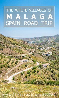UN DIA EN… - Road trip through the white villages of Malaga, Andalusia, Spain - Photo guide Road Trip Essentials, Road Trip Hacks, Road Trips, Malaga Spain, Andalusia Spain, Ibiza, Spain Road Trip, Madrid, Montenegro Travel