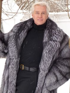 Fox Fur Coat Mens iy3SEW