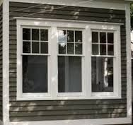 Image result for double hung window with 4 upper pain