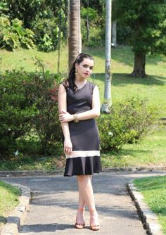 Vestido preto Laleiska