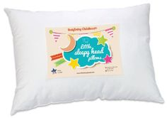 Little Sleepy Head Toddler Pillow, White, 13 X Baby Best Sellers Small Pillows, Baby Pillows, Kids Pillows, White Pillows, Decorative Pillows, Toddler Pillow, Toddler Bed, Toddler Stuff, Souvenir